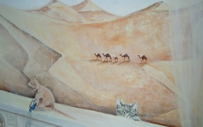 De woestijn
